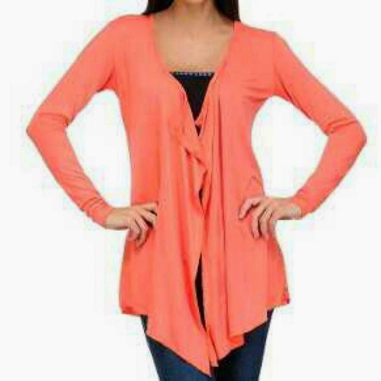 Orange Shrugs for Dresses