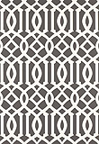 Schumacher Imperial Trellis Charcoal 5003361