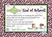 End of School Year Celebration