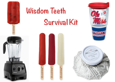 Anchors and Pearls Wisdom Teeth Survival Kit