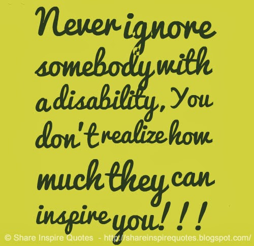 disability quotes and sayings quotesgram