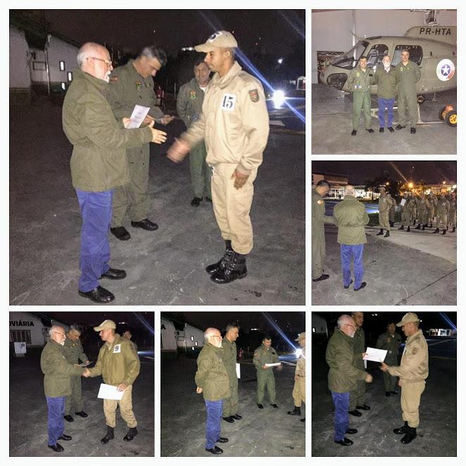 Certificação Curso de APH - NATSAUDE 60 HORAS para tripulação aérea - PMSC- JOINVILLE
