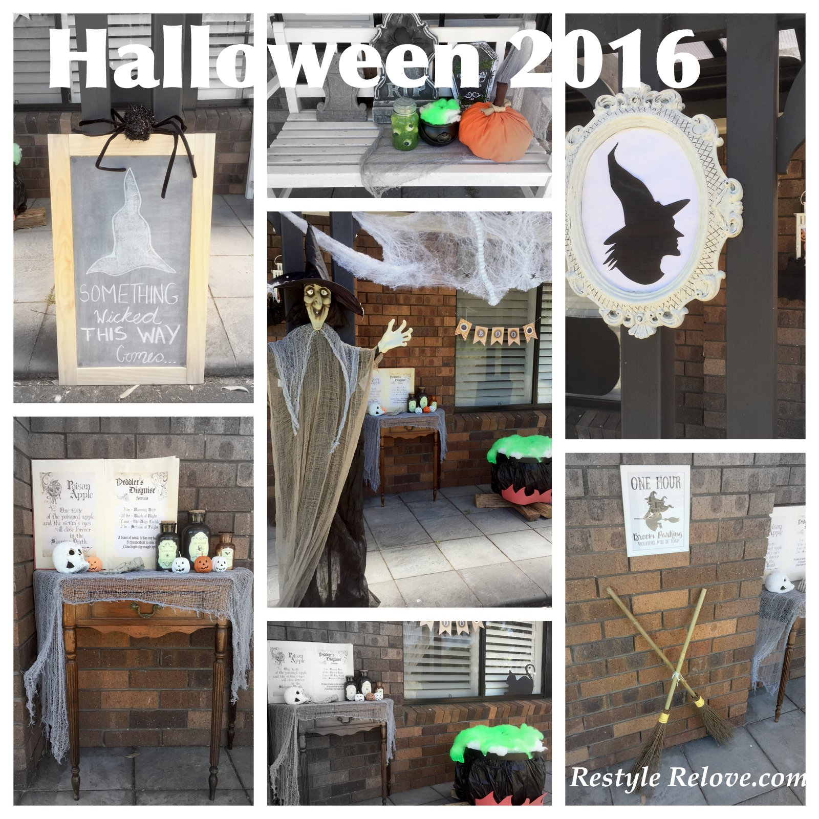 2016 Halloween Porch