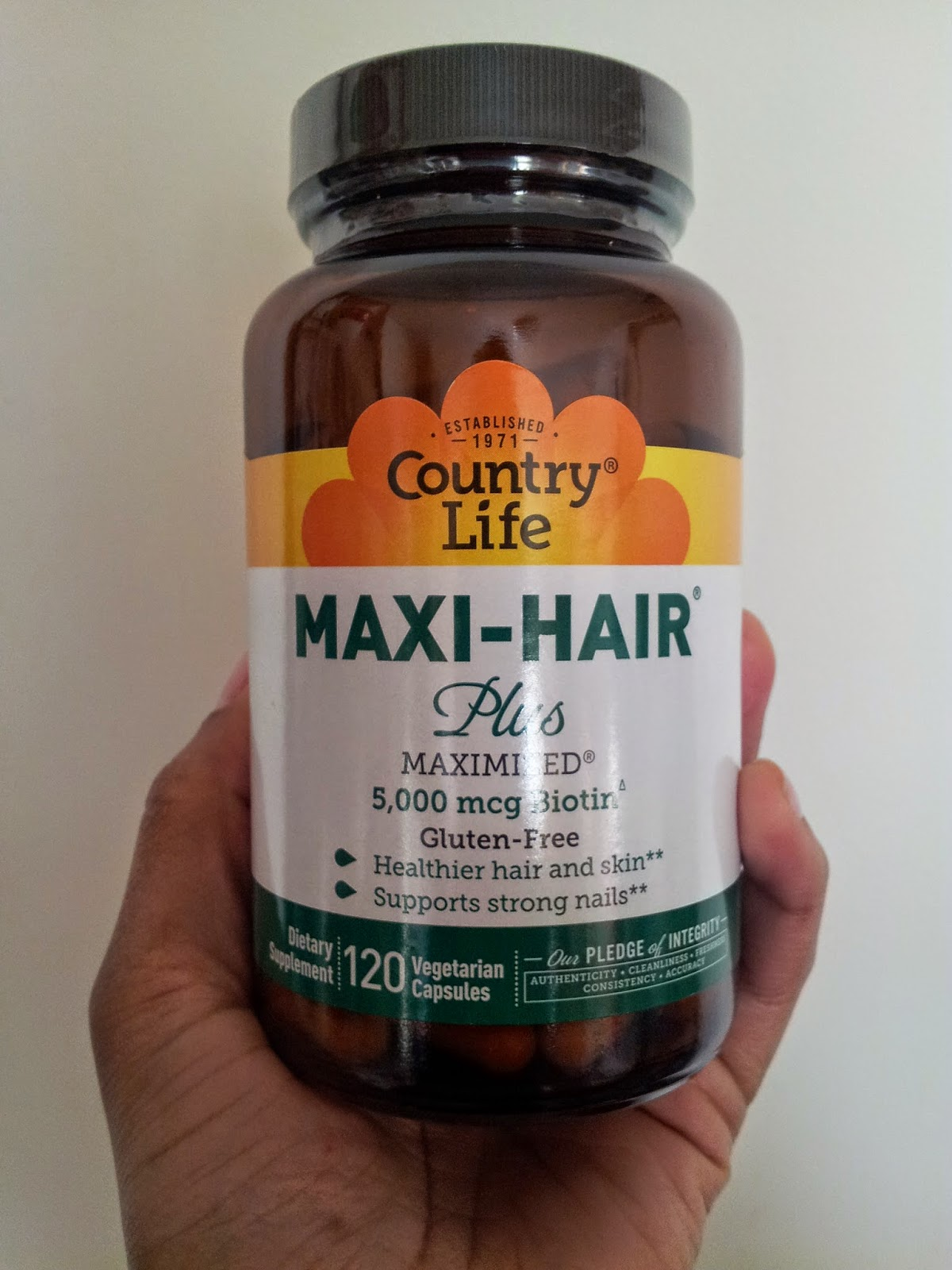 Country life maxi hair vitamins