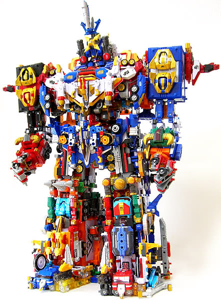machine robo toys