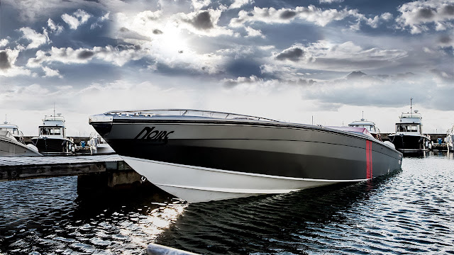 London Motor Group first powerboat customisation: Project Noire