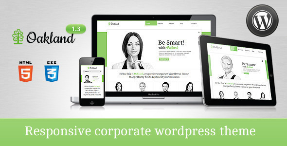 Image for Oakland – Responsive Theme by ThemeForest