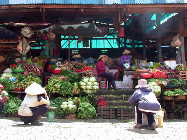 Markets in Dalat