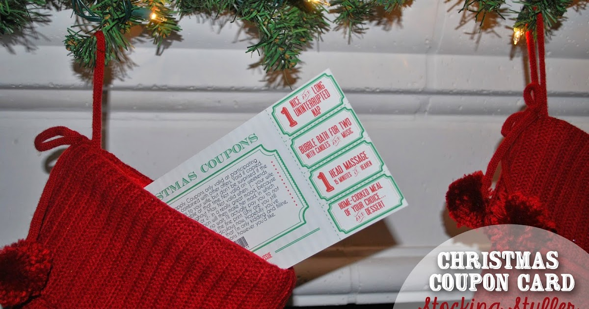 LifeDesign and the Pursuit of Craftiness Christmas Coupon Card – Coupon Disclaimers
