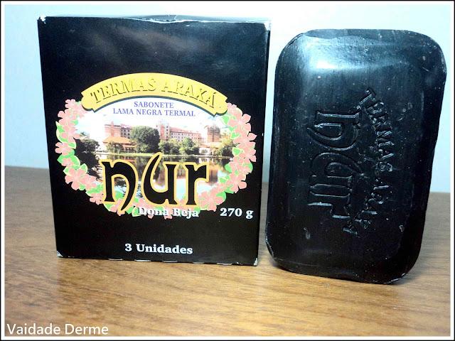 Sabonete de Lama Negra Sulfurosa da Dona Beja