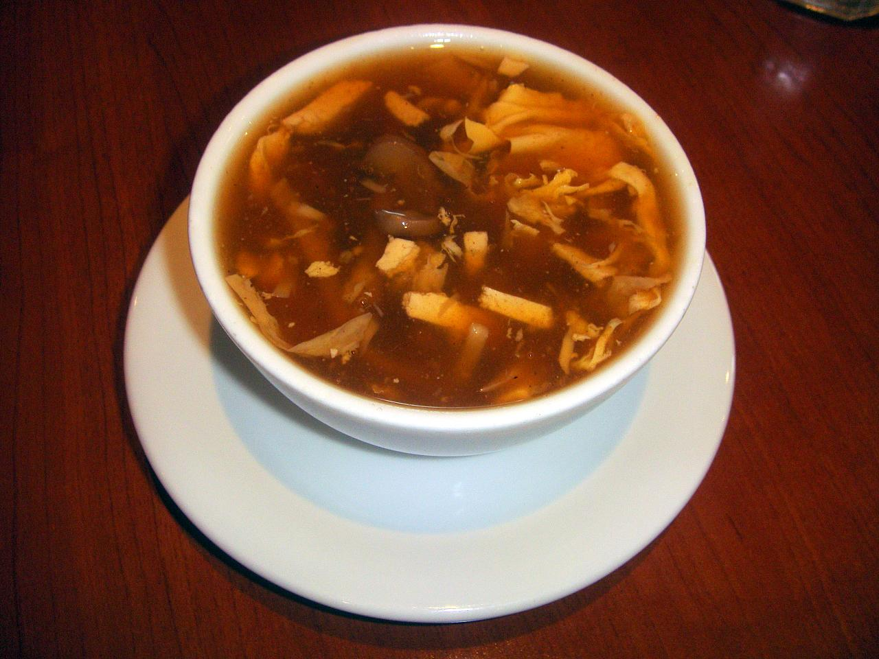 FOOD: Hot and Sour Soup