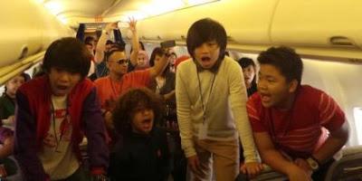 Coboy Junior di Pesawat