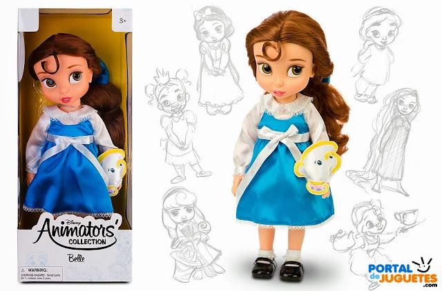 muñeca bella coleccion animators