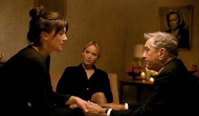 Robert De Niro, Elisabeth Rohm and Jennifer Lawrence in Joy