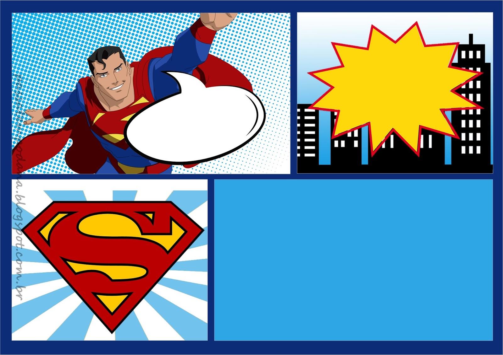 Passatempo da Ana: Kit: Superman