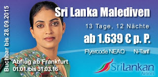 Sri Lanka Malediven