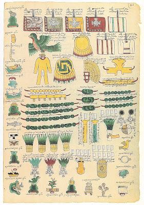 Códice Mendoza Folio 46