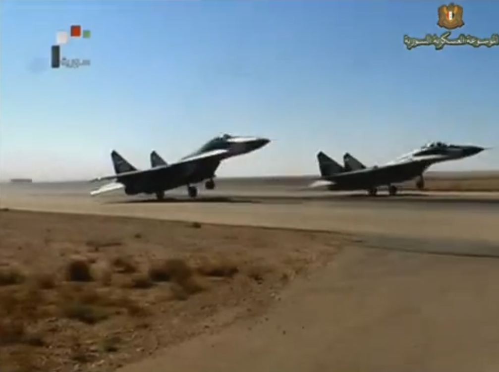 luftwaffe as syrian air force live fire maneuvers july 2012