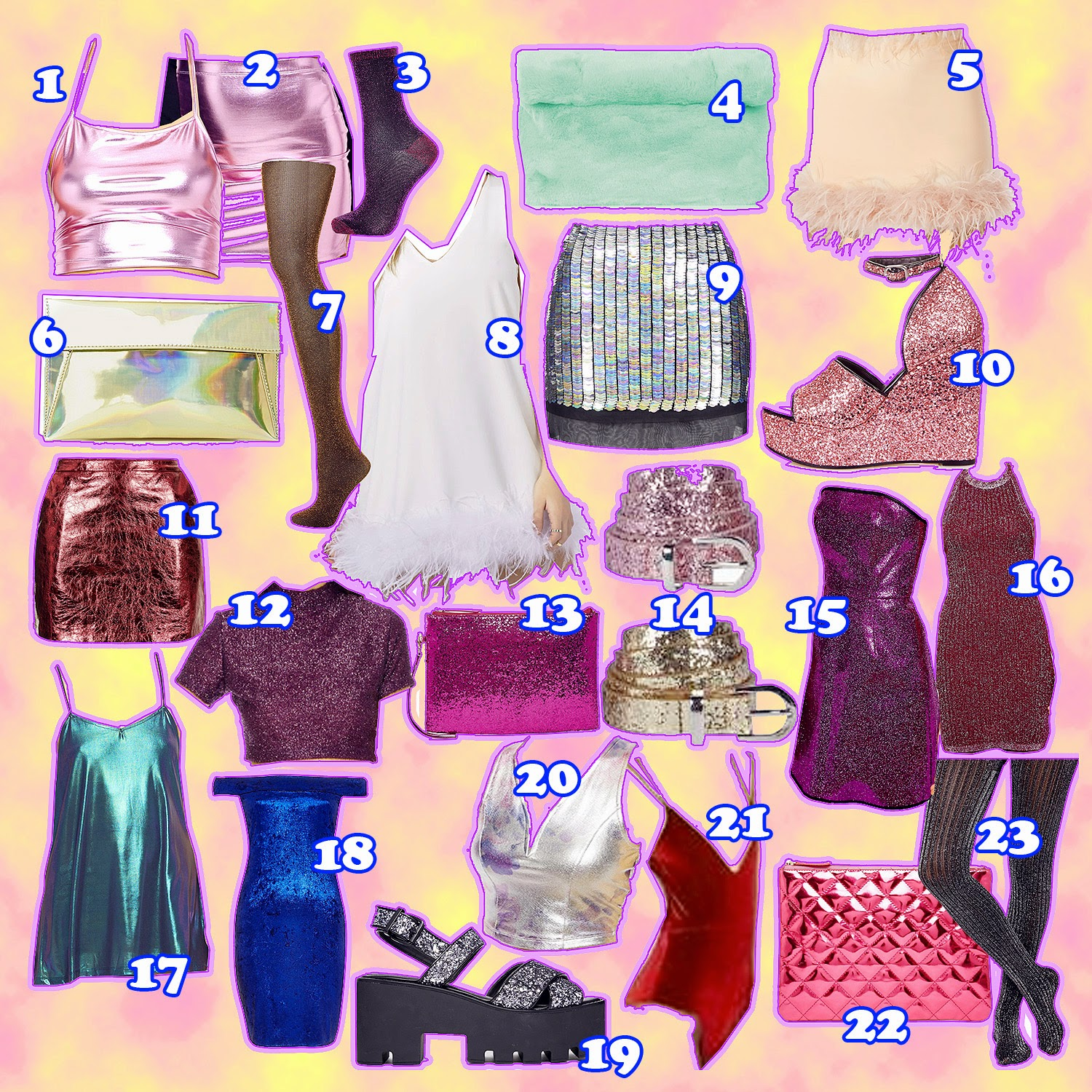 GLITTERY CHRISTMAS PARTY OUTFIT WISHLIST
