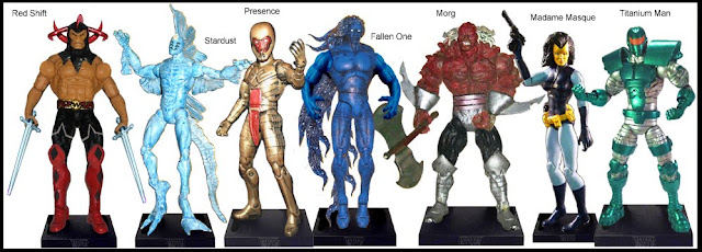 <b>Wave 26</b>: Red Shift, Stardust, The Presence, Fallen One, Morg, Madame Masque and Titanium Man