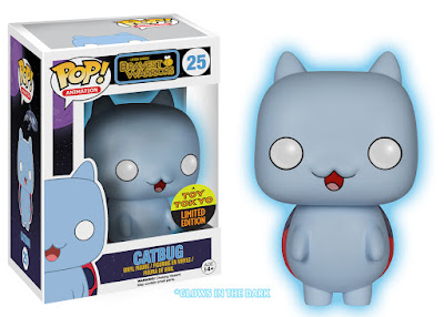 "San Diego Comic-Con 2015 Exclusive Bravest Warriors ""Glow in the Dark"" Catbug Pop! Animation Vinyl Figure by Funko"