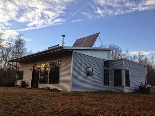 Off grid passive solar prefab home fresh air exchange for Passive solar prefab homes