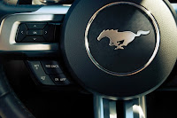 2015 All New Ford Mustang GT sportcar wheel dribe view
