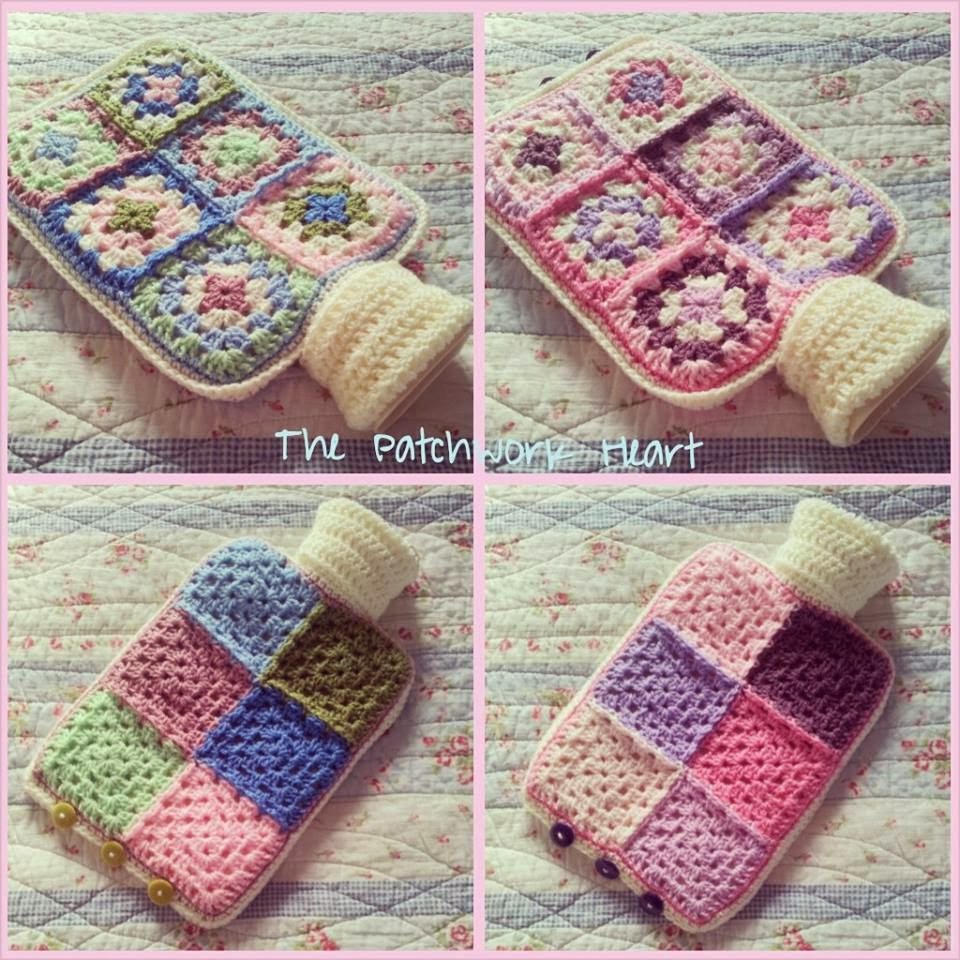 The Patchwork Heart: Hot Water Bottle Love
