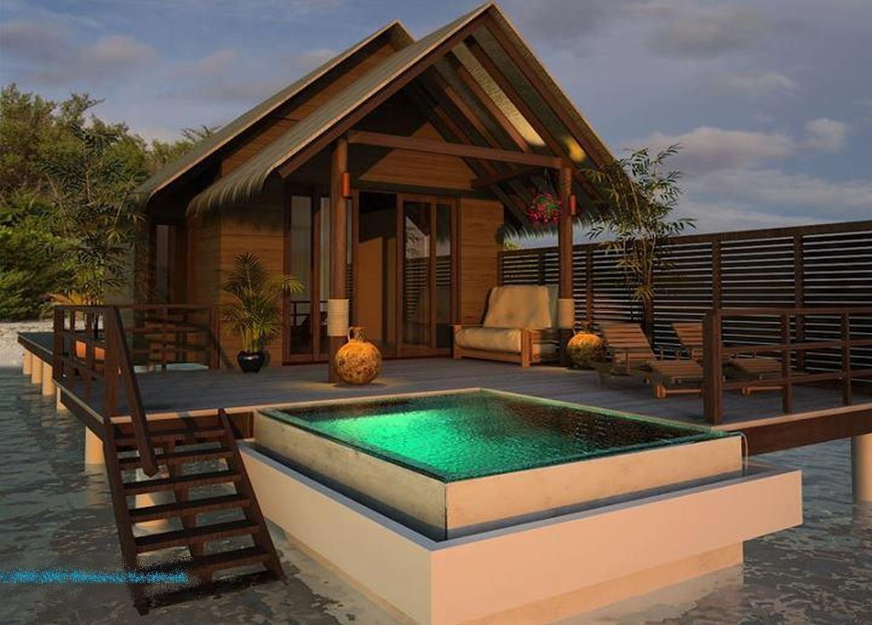 las fotos mas alucinantes casa con piscina en la playa