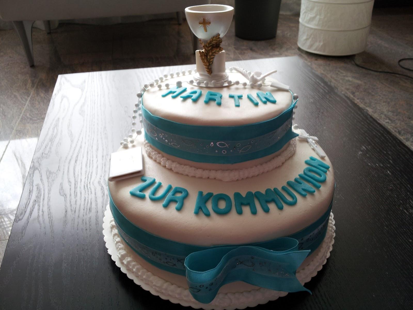 Torte zur kommunion rezept