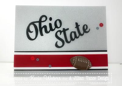 A Jillian Vance Design, Buckeye, Football, Kecia Waters