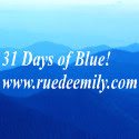 31 Days of Blue...