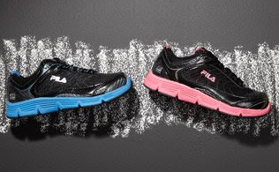 MyHabit: Save Up to 60% off Gym Class: Fila Shoes: a collection of running sneakers, soccer cleats and skele-toe slide shoes provide strong support and comfort. With best quality materials including cushioned lining and rubber soles, these cool kicks will make any time of day feel like recess!