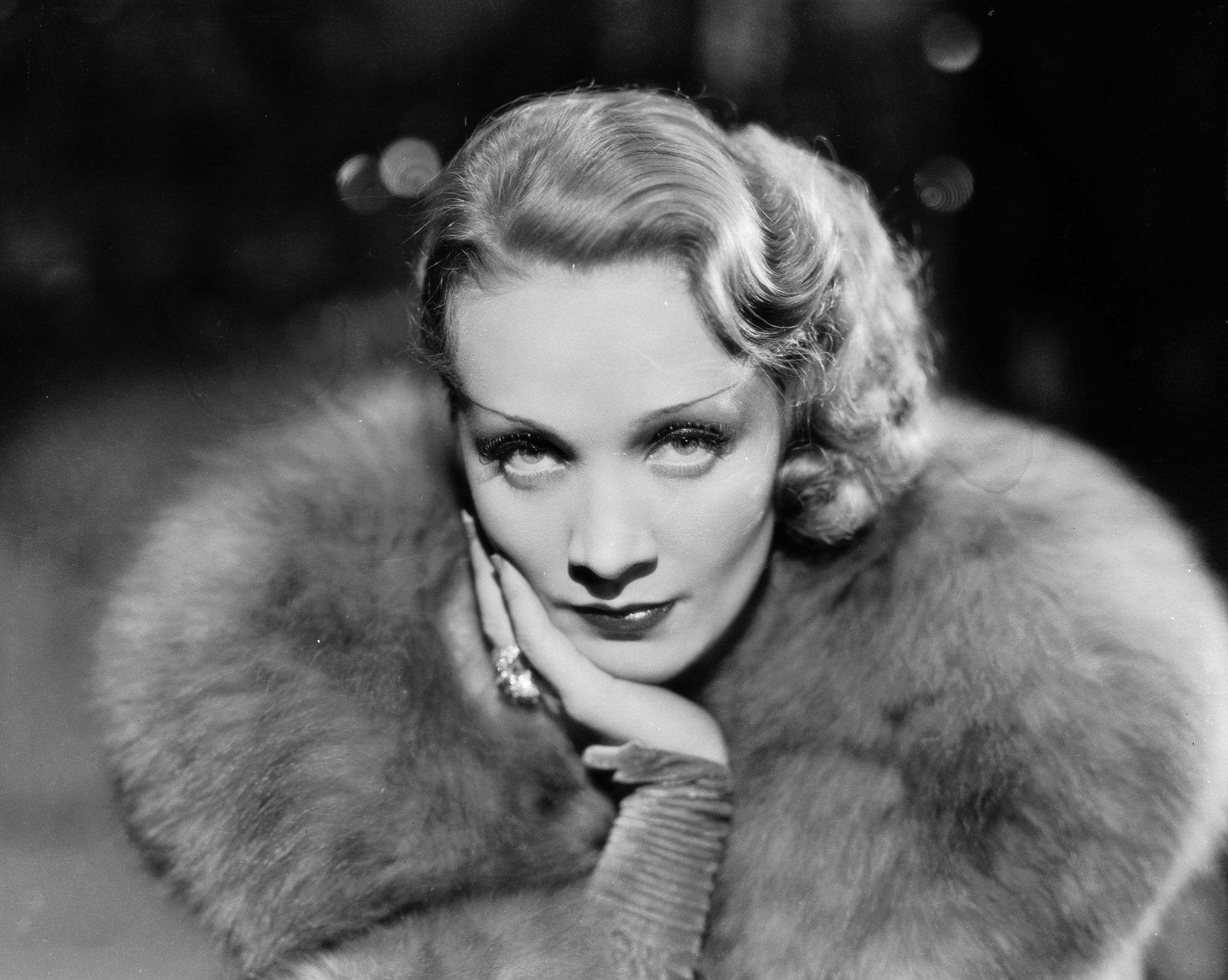 Photo Portret Marlene Dietrich