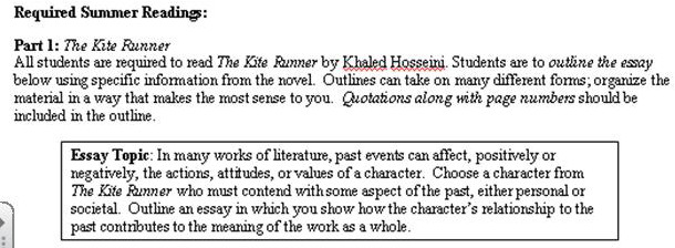 the kite runner analysis  character analysis  2019