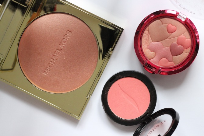 Top 3 blushers for Summer