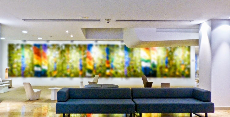 Lobby del Barcelo Bilbao Nervion