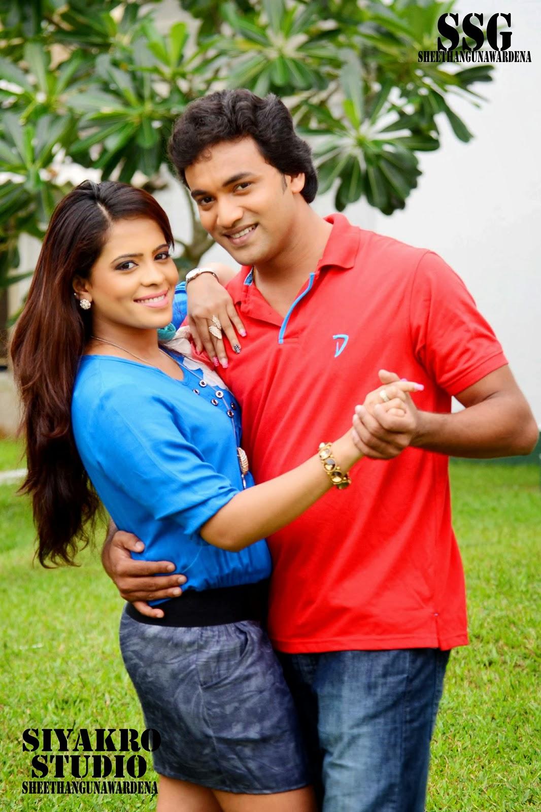 Menaka with Vishwa