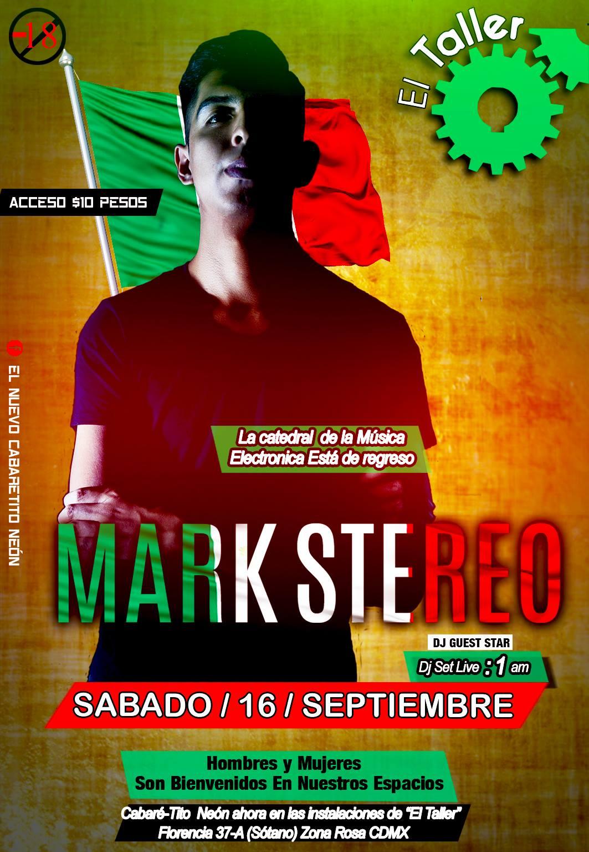 Sabado 16 de Septiembre en Cabaretito Neon CDMX #ElTaller