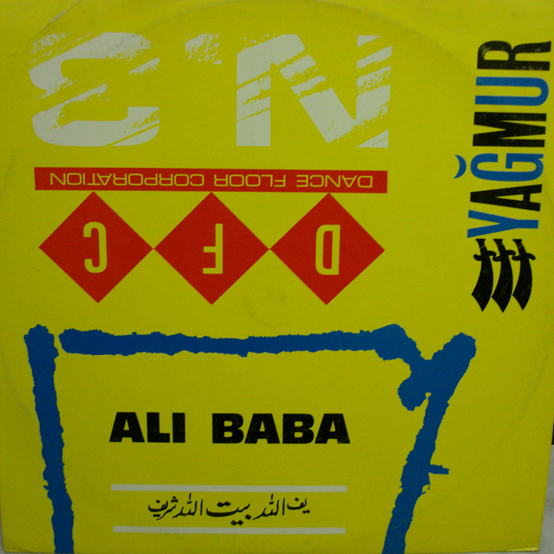 Cover Album of Yagmur - Ali Baba (Maxi)