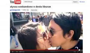 Gambar Foto Ciuman Bibir Alyssa Soebandono dengan Desta Ho t Download 3gp MP4 MPEG AVI