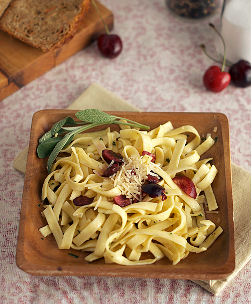 sage buttered noodles