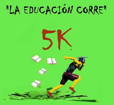 5k Correcaminata La educación corre (parque Rivera, 01/nov/2015)