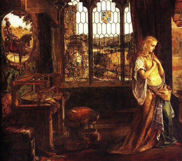 My Continuing Education A Close Reading Of The Lady Of Shalott