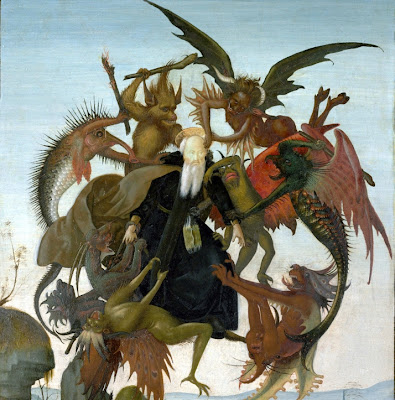 torment of saint anthony Saints who fought the devil: the temptation of st anthony saint anthony (3rd–4th century but if you cannot do anything, why torment yourselves unnecessarily.