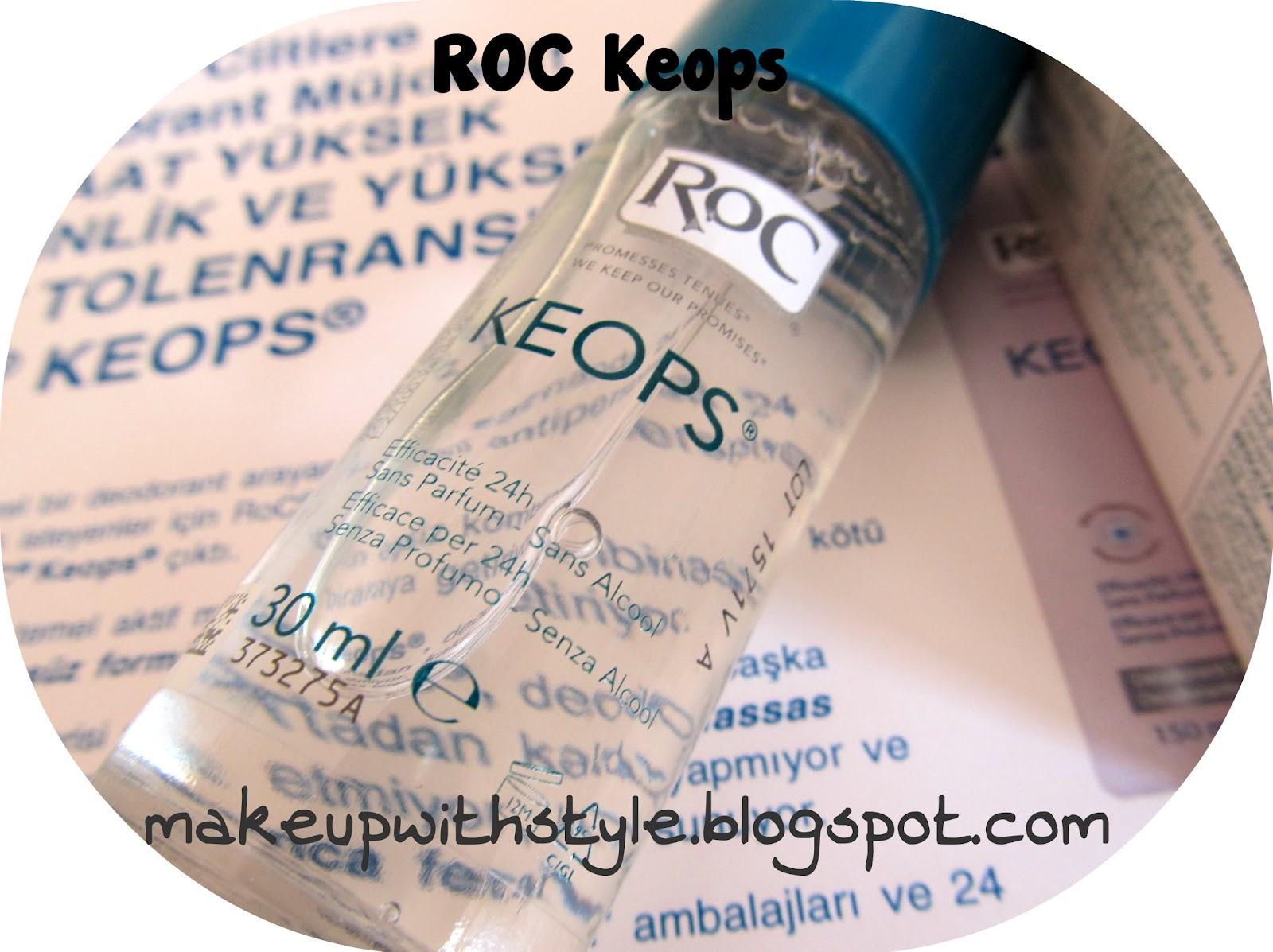 RoC KEOPS Hassas Ciltlere Deodorant 35