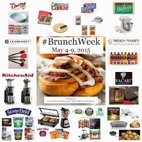 #BrunchWeek 2015 by LoveandConfections.com