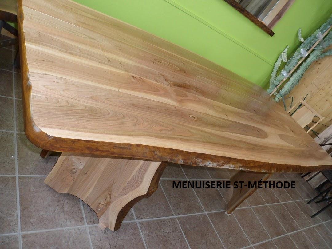 menuiserie st m thode ensemble de 2 tables en cerisier live edge vendre. Black Bedroom Furniture Sets. Home Design Ideas