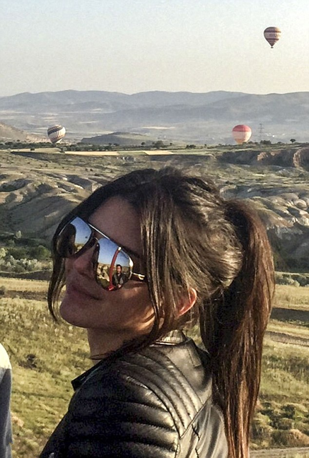 Kendall Jenner takes the altitude!