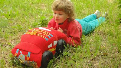 Развивающая игрушка Молния Маквин, мультфильм Тачки - подарок мальчику, подарок девочке